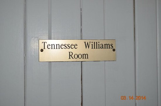 White Birches Inn : Tennessee Williams Room Door