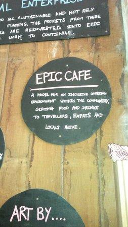 Epic Arts Cafe: Epic is best