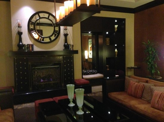 Kimpton Solamar Hotel : Portion of lobby - daily happy hour served here