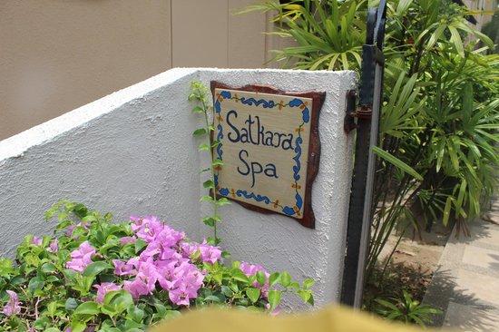 Satkara Spa at Casa del Mar: SPA入口