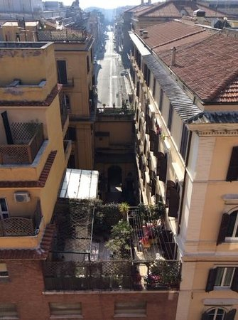 Marcella Royal Hotel: View from the Rooftop