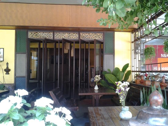 Nonni Guesthouse: Front terrace