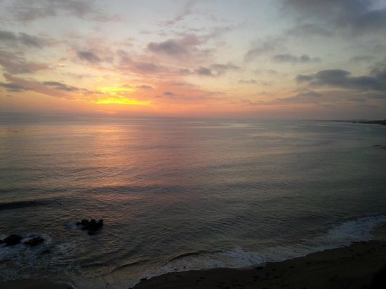 Orange County Coast: Lovely evening sky