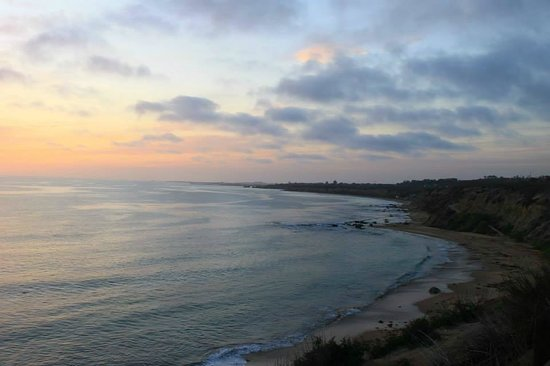 Orange County Coast: Ending the day with sunset near Crystal Cove