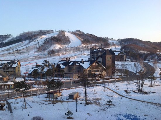 InterContinental Alpensia Pyeongchang Resort: vue