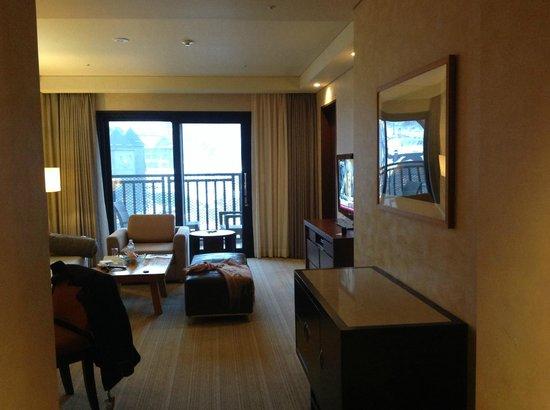 InterContinental Alpensia Pyeongchang Resort: vue sur les pistes d'alpensia