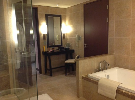 InterContinental Alpensia Pyeongchang Resort: spacieuse salle de bain
