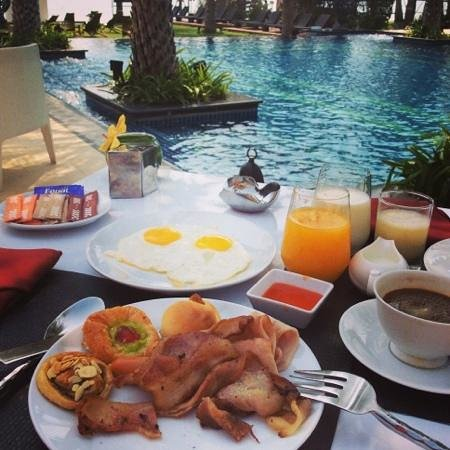 Marrakesh Hua Hin Resort & Spa: great breakfast