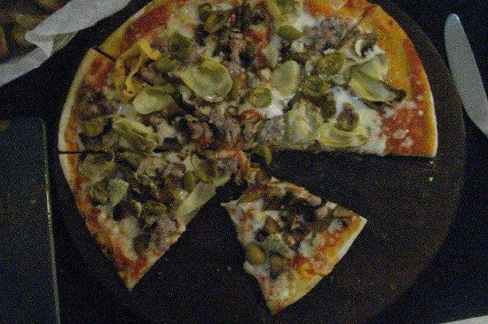 Toscana Mia : Thin Crust Pizza