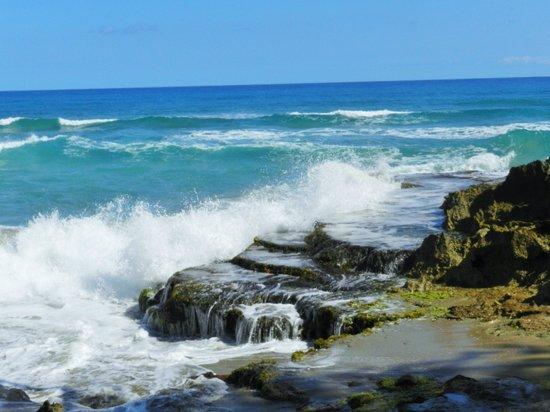 Natura Cabana Boutique Hotel & Spa : Crashing waves