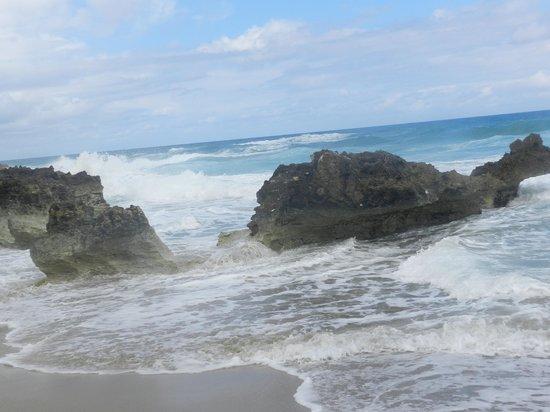Natura Cabana Boutique Hotel & Spa: Along the far end of the beach