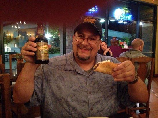"Favela's Mexican Grill: ""Joe The Bear"" Enjoyed His Crispy Shell Carne Asada Tacos and Sierra Nevada ""Porter"" - Favela's"