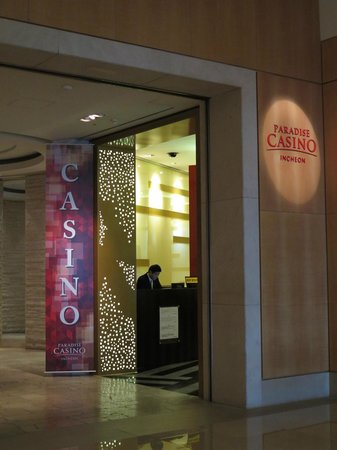 Grand Hyatt Incheon: Casino entrance in lobby