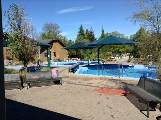 Hanmer Springs Thermal Pools & Spa: lovely and quiet