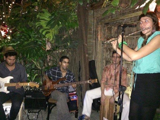 Antigua Contemporanea Cafe: rxpulido: Live band. Eclectic sound. Fantastic.