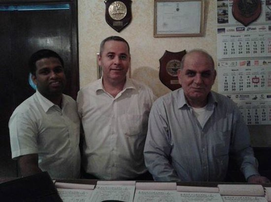 Turkish House : Restaurant Manager Boris Karloff (right) and the team