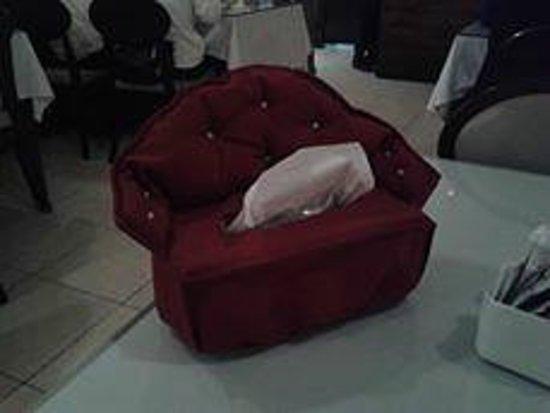 Turkish House : Nice tissue box !