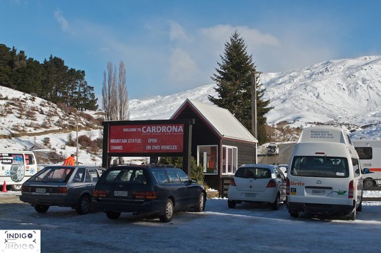 Cardrona Alpine  Resort: Its going to be a busy day