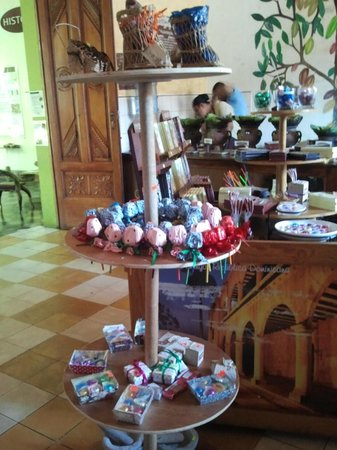 ChocoMuseo: Exposicion de los productos