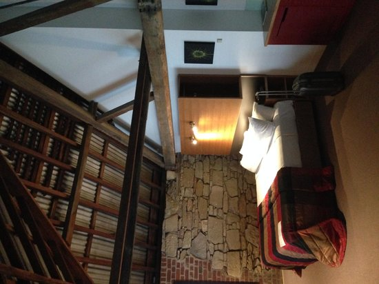 The Henry Jones Art Hotel: the room in the loft