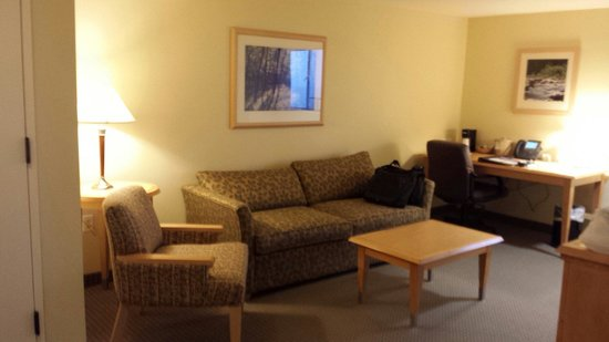 The National Conference Center: Living room in large suite
