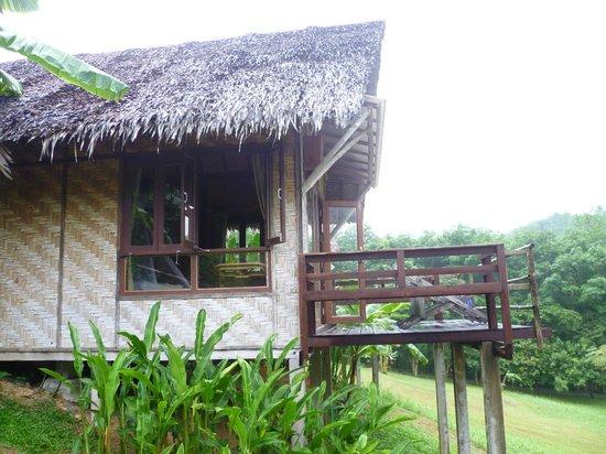 The Cliff & River Jungle Resort: Бунгало