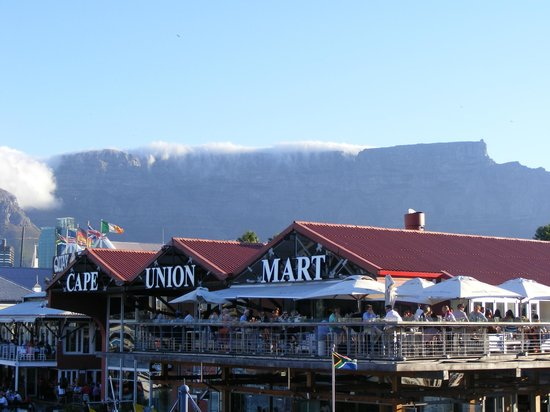 Waterfront Suites: One of the many restaurants at the V&A Waterfront. Always packed, great views of the harbor.