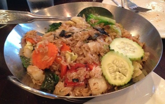 Planet Thai: Spicy Basil Vegetarian Fried Rice