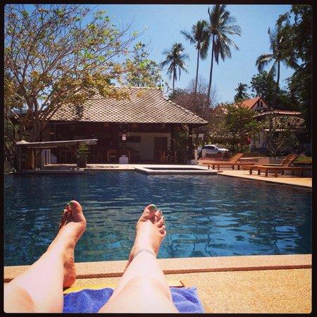 Soontreeya Lanta : Pool view