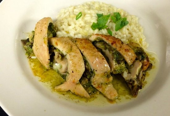 The Black &Tan Grille: Spring Menu 2014 - Chicken Roulade