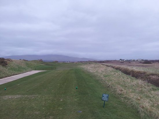 Waterville Golf Links: 1st from tee