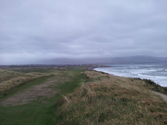 Waterville Golf Links : 18th Hole from tee