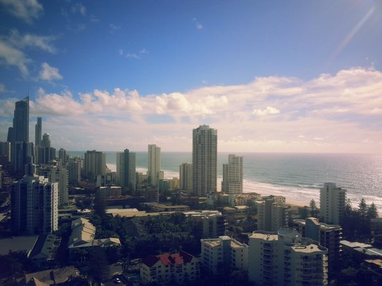 Crowne Plaza Surfers Paradise: The View!