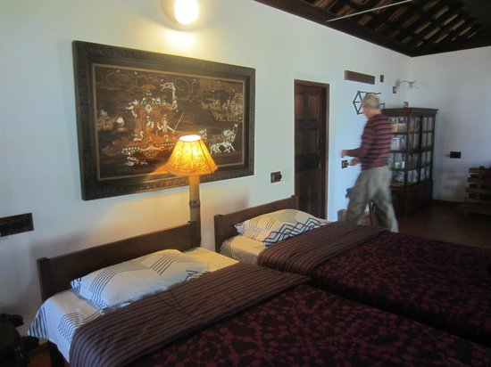Gramam Homestay: inside the bungalow