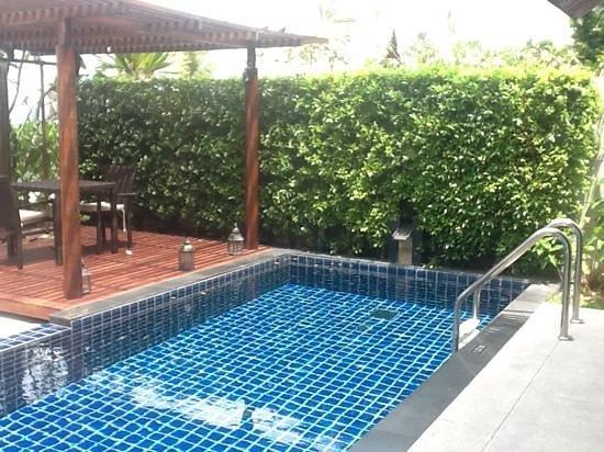 InterContinental Samui Baan Taling Ngam Resort : beach villa pool