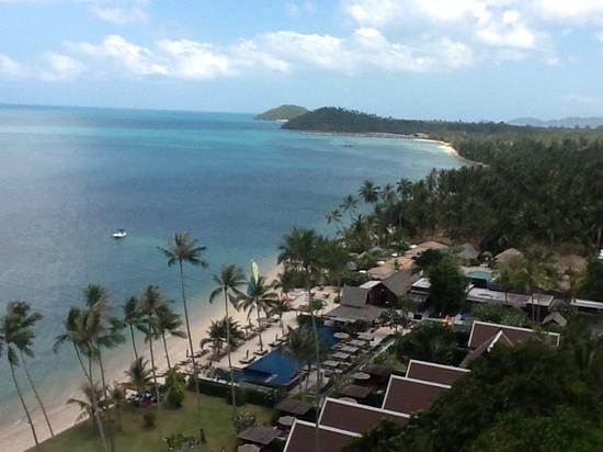 InterContinental Samui Baan Taling Ngam Resort : view from lobby