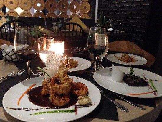 Camarones en salsa de tamarindo picture of gracia cocina - Cocina de autor ...