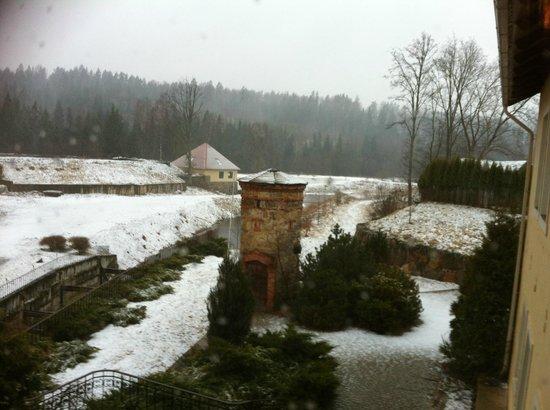 Bille, Łotwa: Вид из окна