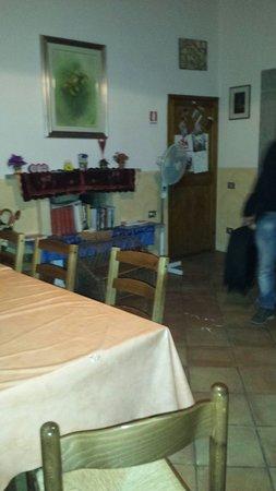 A Via dei Giubbonari 23: Sala colazione