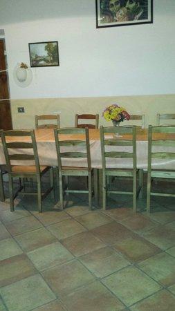 A Via dei Giubbonari 23: Sala colazioni