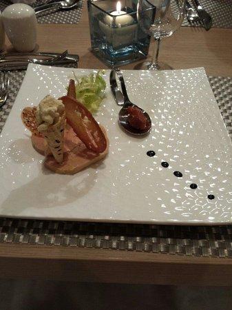 Restaurant Comte Roger: Le foi gras mi cuit