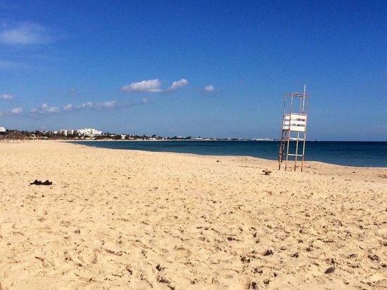Vincci Nozha Beach Resort: Had the beach all to ourselves most days, feb 2014