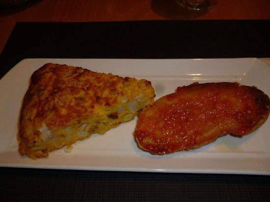 Matamala: Vorspeise (Tortilla)