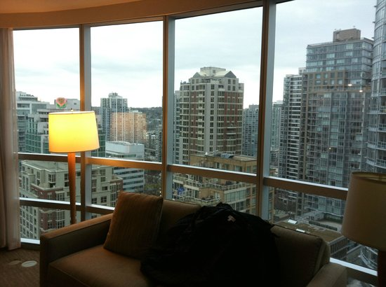 The Westin Grand, Vancouver: view from room