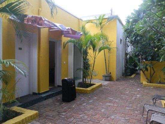 Devraj Niwas (Stay Well Planted): room first door