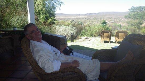 Bushmans Kloof Wilderness Reserve & Wellness Retreat: Balcony