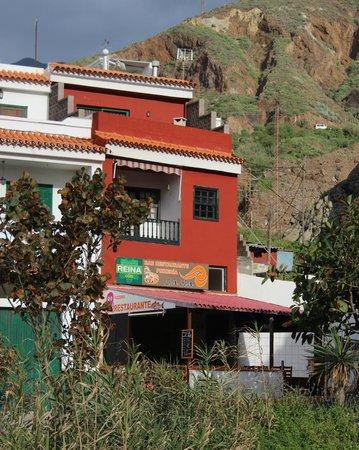 Restaurante La Ola: Außenansicht mit Sonnenterrasse von La Ola