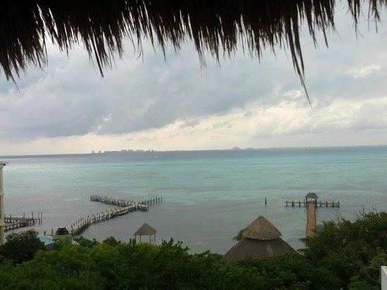 Casa de Los Sueños : Вид из номера. На горизонте Канкун