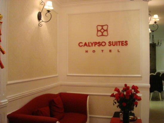 Calypso Suites Hotel: Reception area
