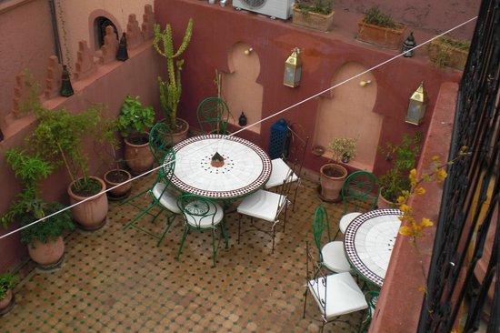 Riad Bab Tilila : Terrazza